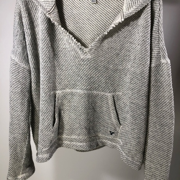 ❄️American Eagle Outfitters Grey Hoodie Size L